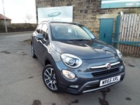 USED 2015 FIAT 500X 1.6 MULTIJET CROSS PLUS 5d 120 BHP Touch Screen Sat Nav Full Service History