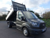 USED 2019 68 FORD TRANSIT 350 L2 MWB DRW INGIMEX TIPPER 2.0 TDCI 170PS ** Ultimate Specification Tipper** Air Con, Metallic Paint, 170 BHP Engine, 3.5t Towing Rear Axle, High Visibility Pack And Heated And Comfort Seat Pack!  In Stock Now!