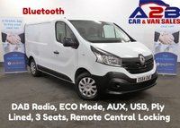 2014 RENAULT TRAFIC 1.6 DCi BUSINESS, DAB Radio, Bluetooth, Electric Pack, AUX, USB, MP3, Ply Lined, Serviced and Mot'd £7480.00