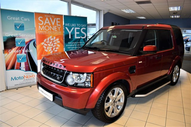 2010 60 LAND ROVER DISCOVERY 4 3.0 4 SDV6 GS 5d AUTO 245 BHP