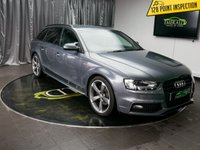 USED 2013 63 AUDI A4 2.0 AVANT TDI S LINE BLACK EDITION 5d 148 BHP £0 DEPOSIT FINANCE AVAILABLE, AIR CONDITIONING, BANG & OLFUSEN SOUND SYSTEM, CLIMATE CONTROL, CRUISE CONTROL, DAB RADIO, DAYTIME RUNNING LIGHTS, FULL S LINE LEATHER UPHOLSTERY, PRIVACY GLASS, STEERING WHEEL CONTROLS, TRIP COMPUTER