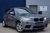 USED 2012 62 BMW X3 2.0 XDRIVE20D M SPORT