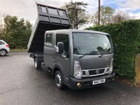 2017 NISSAN NT400 CABSTAR 35.13 DOUBLE CAB TIPPER 3.0 DCI 130 BHP £SOLD
