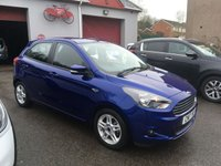 USED 2017 17 FORD KA+ 1.2 ZETEC 5d 84 BHP LOW INSURANCE, AIR CONDITIONED, ALLOY WHEELS,