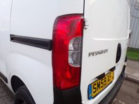 USED 2009 59 PEUGEOT BIPPER 1.4 HDI VAN S 1d 68 BHP ELECTRIC WINDOWS SIDE LOADING DOOR  PART EXCHANGE AVAILABLE / ALL CARDS / FINANCE AVAILABLE