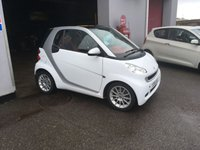 USED 2011 11 SMART FORTWO 1.0 PASSION MHD 2d AUTO 71 BHP SAT NAV, AIR CONDITIONING, GLASS ROOF