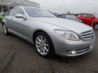 2007 MERCEDES-BENZ CL 5.5 CL 500 2d 383 BHP £9995.00