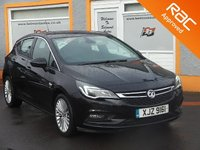 USED 2015 65 VAUXHALL ASTRA 1.6 ELITE CDTI 5d 108 BHP 1 Owner, Heated Leather Seats, RAC inspection