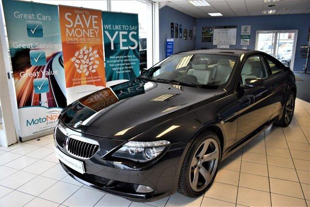 2008 M BMW 6 SERIES 4.8 650I SPORT 2d AUTO 363 BHP
