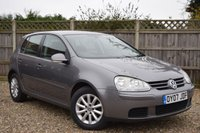 USED 2007 07 VOLKSWAGEN GOLF 1.9 MATCH TDI 5d 103 BHP In soon