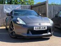 USED 2010 10 NISSAN 370Z 3.7 V6 BLACK EDITION 3d AUTO 328 BHP FREE MINI BREAK WITH THIS CAR