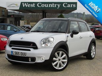 2015 MINI COUNTRYMAN 1.6 COOPER S 5d 184 BHP £17000.00