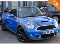 USED 2012 62 MINI CONVERTIBLE 1.6 COOPER S 2d 184 BHP