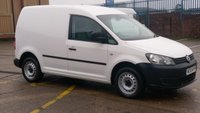 2013 VOLKSWAGEN CADDY 1.6 TDI C 20  75 BHP 1 OWNER F/S/H   FREE 12 MONTHS WARRANTY COVER  £4390.00