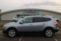USED 2011 61 NISSAN QASHQAI+2 1.5 ACENTA PLUS 2 DCI 5d 110 BHP LOW DEPOSIT OR NO DEPOSIT FINANCE AVAILABLE