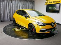 USED 2015 65 RENAULT CLIO 1.6 RENAULTSPORT NAV LUX 5d AUTO 200 BHP £0 DEPOSIT FINANCE AVAILABLE, AIR CONDITIONING, AUX INPUT, BASS REFLEX SOUND SYSTEM, BLUETOOTH CONNECTIVITY, CLIMATE CONTROL, CRUISE CONTROL, DAB RADIO, DAYTIME RUNNING LIGHTS, KEYLESS ENTRY, PARKING SENSORS, R LINK MEDIA SYSTEM WITH TOUCH SCREEN, REVERSE CAMERA, RS DRIVE, SATELLITE NAVIGATION, START/STOP SYSTEM, STEERING WHEEL CONTROLS, TINTED WINDOWS, TRIP COMPUTER, USB CONNECTION