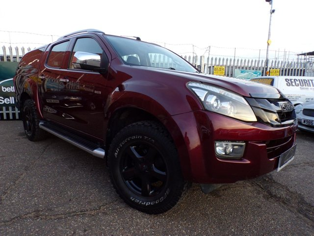 2012 62 ISUZU D-MAX 2.5 UTAH D/C INTERCOOLER TD 1d 164 BHP FULL LEATHER 50,000 MILES