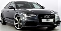 USED 2014 14 AUDI A6 SALOON 3.0 BiTDi Black Edition Tiptronic quattro 4dr F/S/H (5 Stamps), Immaculate!