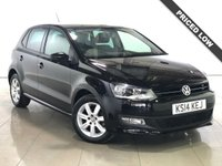 USED 2014 14 VOLKSWAGEN POLO 1.2 MATCH EDITION 5d 69 BHP 1 Owner/Ideal First Car/AC
