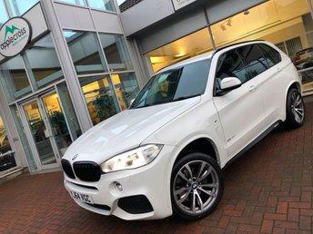 2014 BMW X5 3.0 XDRIVE 40D M SPORT (7 SEAT) 5d AUTO 309 BHP £30500.00