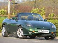 USED 1997 R FIAT BARCHETTA 1.7 16V LHD 2d 129 BHP