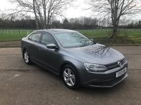 2013 VOLKSWAGEN JETTA 1.6 SE TDI BLUEMOTION TECHNOLOGY 4d 104 BHP £8337.00