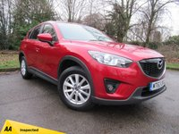 USED 2014 63 MAZDA CX-5 2.0 SE-L NAV 5d 163 BHP SATELLITE NAVIGATION, BLUETOOTH CONNECTION
