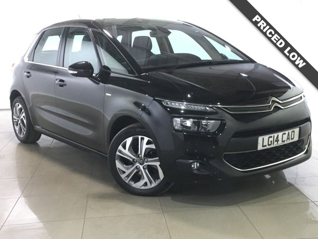 View our 2014 14 CITROEN C4 PICASSO 1.6 E-HDI AIRDREAM EXCLUSIVE 5d 113 BHP