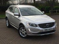 2013 VOLVO XC60 2.4 D4 SE LUX AWD 5d AUTO 161 BHP £14895.00