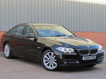 2015 BMW 5 SERIES 2.0 520D SE 4d AUTO 188 BHP £13995.00