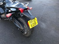 USED 2012 12 CAN-AM SPYDER 1.90 SPYDER RS 5 SPEED SEMI AUTO IN BLACK  LOTS OF EXTRAS ON THIS BIKE INCLUDING TAIL TIDY