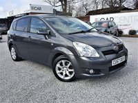 USED 2008 57 TOYOTA COROLLA 2.2 VERSO SR D-4D 5d 135 BHP PART EX TO CLEAR - TRADE SALE