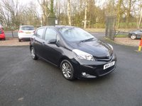 2014 TOYOTA YARIS 1.3 VVT-I ICON PLUS 5d 99 BHP £6850.00