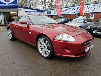 2007 JAGUAR XK 4.2 COUPE 2d 294 BHP £12500.00
