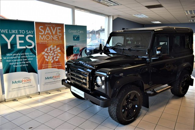 View our LAND ROVER Defender 90 TD XS