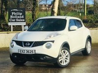 "USED 2013 NISSAN JUKE 1.5 ACENTA PREMIUM DCI 5d 110 BHP Upgrades, Sat Nav touchscreen, Reverse parking camera, Rear privacy glass, 17"" Alloys"