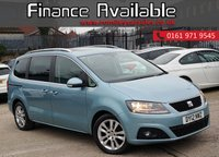 USED 2012 12 SEAT ALHAMBRA 2.0 CR TDI ECOMOTIVE SE 5d 140 BHP 1 OWNER FROM NEW+CAMBELT @ 71K