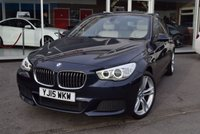 USED 2015 15 BMW 5 SERIES 2.0 520D M SPORT GRAN TURISMO 5d AUTO 181 BHP FINANCE TODAY WITH NO DEPOSIT