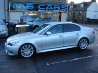 USED 2007 BMW 5 SERIES 2.5 525D M SPORT 4d AUTO 175 BHP FULL SERVICE HISTORY,AUTOMATIC