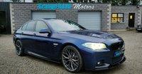 2015 BMW 5 SERIES 2.0 520D M SPORT 4d AUTO 188 BHP M PERFORMANCE REVERSE CAMERA £16950.00