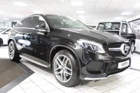 USED 2015 65 MERCEDES-BENZ GLE-CLASS GLE 350 D 4MATIC AMG LINE COUPE PREMIUM PLUS PAN ROOF COMAND NAV H/K FBMWSH