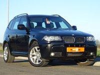 USED 2010 10 BMW X3 2.0 XDRIVE18D M SPORT 5d 141 BHP