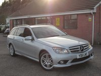 2011 MERCEDES-BENZ C-CLASS C220 CDI BLUEEFFICIENCY SPORT AUTO 5dr £8490.00