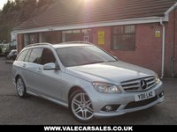 USED 2011 11 MERCEDES-BENZ C-CLASS C220 CDI BLUEEFFICIENCY SPORT AUTO 5dr OVER £1,400 OF EXTRAS FITTED / AUTOMATIC