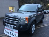 USED 2007 07 LAND ROVER DISCOVERY 2.7 3 COMMERCIAL XS MWB 1d 188 BHP **SERVICE HISTORY**COMMERCIAL CHEAP TAX**TOW BAR**