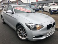 USED 2013 63 BMW 1 SERIES 2.0 116D SE 5d 114 BHP REAR PRIVACY GLASS + ALLOYS + AIR CON