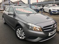 USED 2015 15 MERCEDES-BENZ A CLASS 1.5 A180 CDI BLUEEFFICIENCY SE 5d 109 BHP FREE TO TAX + 1 OWNER + MERCEDES BENZ SERVICE HISTORY