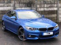 USED 2013 63 BMW 4 SERIES 2.0 428I M SPORT 2d 242 BHP PRO NAV/XENON/20'' ALLOYS/PDC