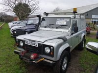 USED 2002 02 LAND ROVER DEFENDER 2.5 110 HARD-TOP TD5 1d 120 BHP www.suffolkcarcentre.co.uk - Located at Reydon