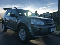 2011 LAND ROVER FREELANDER 2.2 TD4 XS  1 local  owner 29000 miles fsh stunning example  £13495.00